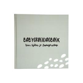 9 maanden boek | Groeidagboek - in 3 kleuren