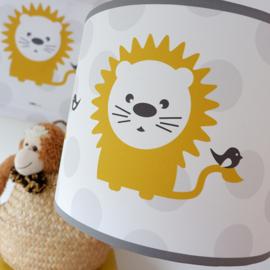 Lamp babykamer okergeel | Leeuw