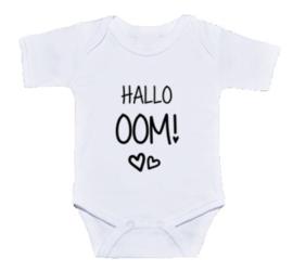 Hallo oom! | Rompertje aankondiging zwangerschap