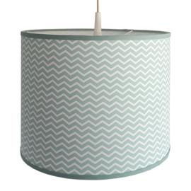 Lamp babykamer groen | zigzag