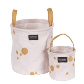Mandenset babykamer | Golden dots