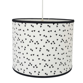 Lamp babykamer monochrome | triangles