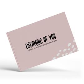 Fertiliteitsdagboek | invulboek roze