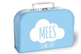 Koffertje wolk