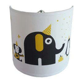 Wandlamp babykamer | feestbeesten | verschillende kleuren