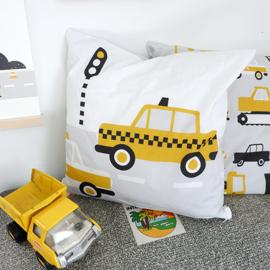 Sierkussen kinderkamer | Taxi