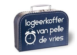 Koffertje met naam | Logeerkoffertje