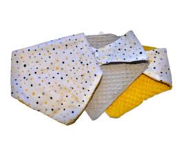 Baby bandana slab   confetti