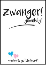 Kaartje | Zwanger!