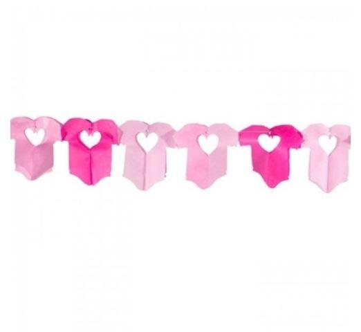 Babyshower   slinger   romper roze