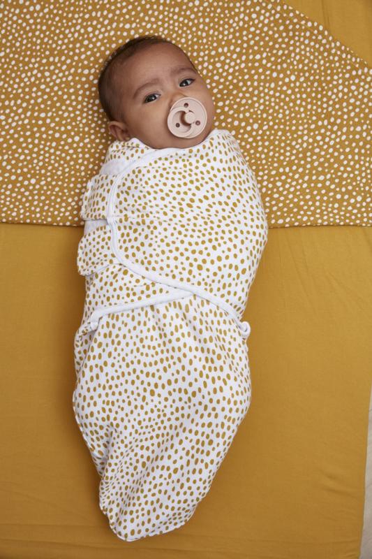 Meyco Swaddle cheetah - honey gold