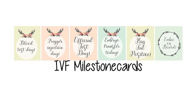 IVF milestonecards
