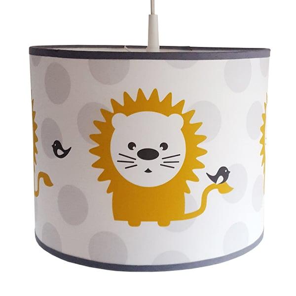 Lamp babykamer okergeel