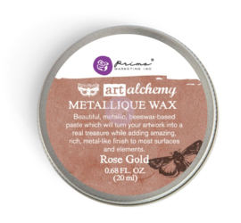 Art Alchemy Metallique Wax Rose Gold