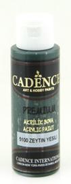 Premium acrylverf (semi mat) Olijfgroen