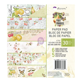 6X6 PAPIEREN PAD-FRUIT PARADISE-COLLECTIE
