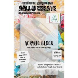 A5 Acrylic Block