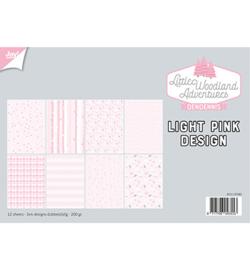 Papierset - LWA - Design Light Pink