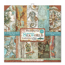 Sea World 12x12 Inch Paper Pack
