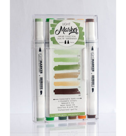 Water Based Dual Tip Markers Nature