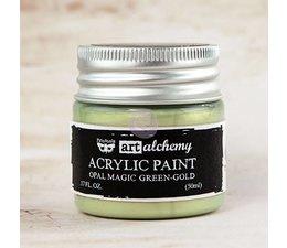 Art Alchemy Acrylic Paint Opal Magic Green-Gold