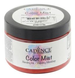 Color Mist Bending Inkt verf Rood
