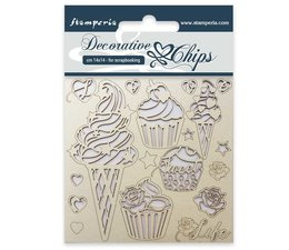 Decorative Chips Ice Cream