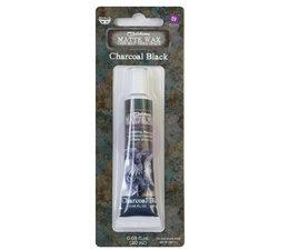 Art Alchemy Matte Wax Charcoal Black