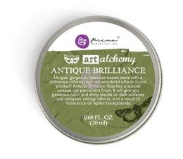 Art Alchemy Antique Brilliance Wax Lucky Emerald