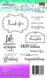 Perfect Wishes Clear Stamps