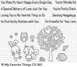 Wonderful Woodland Friends Clear Stamps