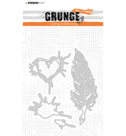 Cutting and Embossing Die, Grunge Collection 2.0, nr.177
