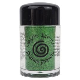 Cosmic Shimmer sparkle shaker emerald green