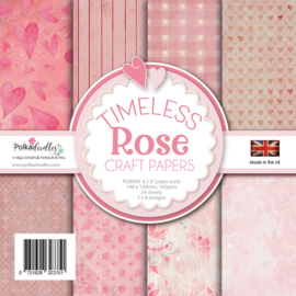 Timeless Rose 6x6 Inch Paper Pack