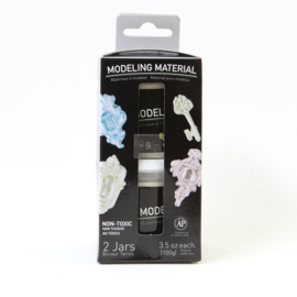 MODELING MATERIAL JAR, SET OF 2 /BOX. 3.5 OZ. EACH