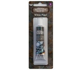 Art Alchemy Metallique Wax White Pearl