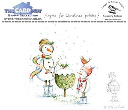 Anyone For Christmas Pudding Clear Stamps