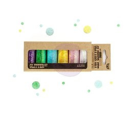 Finnabair Art Ingredients Glitter Set Abloom