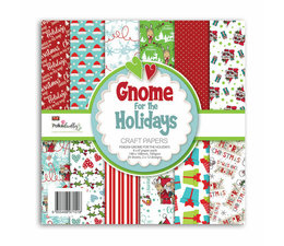 Gnome for the Holidays 6x6 Inch Paper Pack
