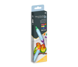 TriColour Aqua Markers Colour Basics
