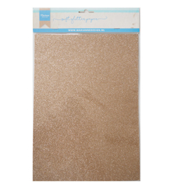 Soft Glitter paper - Bronze