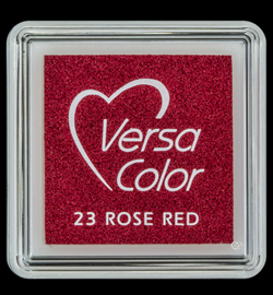 VersaColor mini Inkpad-Rose Red