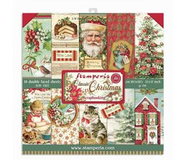 Classic Christmas 12x12 Inch Paper Pack
