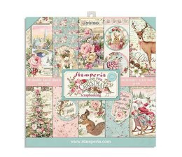Pink Christmas 8x8 Inch Paper Pack