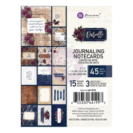 Darcelle 3x4 Inch Journaling Cards