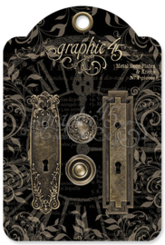 Metal Door Plates & Knobs