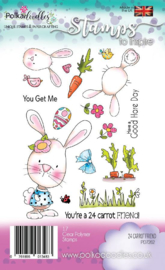 Polkadoodles 24 Carrot Friend Clear Stamps