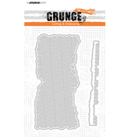 Cutting and Embossing Die, Grunge Collection 2.0, nr.174