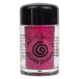 Cosmic Shimmer sparkle shaker cerise pink
