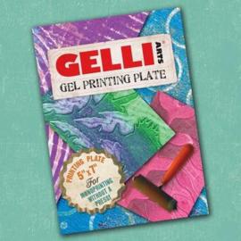 Gel Printing Plate 12.7x17.8cm GEL5X7
